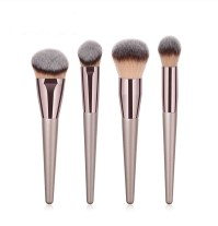 4pc Golden Brush Set