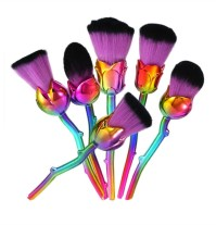 6pc Flower Brush Set