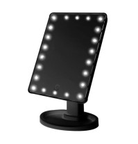 Black LED Makeup Mirror